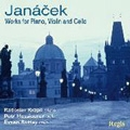 Janacek: Works for Piano, Violin & Cello / Radoslav Kvapil, Petr Messiereur, Evzen Rattay