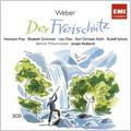 Weber: Der Freischutz  / Joseph Keilberth(cond), Berlin Philharmonic Orchestra, Elisabeth Grummer(S), Rudolf Schock(T), etc<限定盤>
