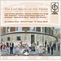 Last Night of Proms -Handel, Butterworth, Elgar, Holst, etc
