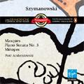 Szymanowski : Piano Sonata No.3, Op.36, Metopes Op.29, Masques Op.34 / Piotr Anderszewski(p)