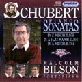 Schubert : Piano Sonatas Vol. 7 / Bilson