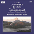 Godowsky:Piano Music Vol.8 -Java Suite/Symphonic Metamorphoses on Themes of J.Strauss II No.3 -Wine, Women & Song:Konstantin Scherbakov(p)