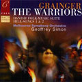 GRAINGER:THE WARRIORS/IRISH TUNE FROM COUNTY DERRY/DANISH FOLK MUSIC/ETC :GEOFFREY SIMON(cond)/MELBOURNE SYMPHONY ORCHESTRA