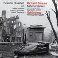 R.Strauss: Metamorphosen; Schoenberg: Verklaerte Nacht Op.4, etc (6/13-18/1998) / Brandis String Quartet, etc