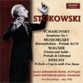 Tchaikovsky: Symphony No.5 Op.64; Mussorgsky: Khovanshchina Prelude Act 4, etc (5/20, 31/1955) / Leopold Stokowski(cond), Stuttgart RSO, etc