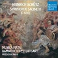 H.Schutz: Symphoniae Sacrae / Frieder Bernius, Cologne Musica Fiata, Stuttgart Chamber Choir, etc