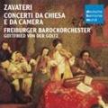 Zavateri: Concerti da Chiesa e da Camera / Gottfried von der Goltz, Freiburg Baroque Orchestra