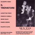 Verdi: Il Trovatore (2/4/1961) / Faust Cleva(cond), Metropolitan Opera Orchestra, Leontyne Price(S), Franco Corelli(T), Irene Dalis(Ms), etc