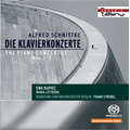 Schnittke: Piano Concertos No.1-3  / Ewa Kupiec(p), Maria Lettberg(p), Frank Strobel(cond), Berlin Radio Symphony Orchestra, etc