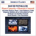 David Winkler: Piano Concerto, Elements Concerti / Alexander Panizza(p), Anna Rabinova(vn), David Handel(cond), Ivan Meylemans(cond), Cuyo National University Symphony Orchestra, etc
