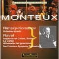R=Korsakov: Scheherazade, Ravel/ Monteux, SFSO