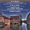 Mozart: Clarinet Concerto KV.622; Weber: Clarinet Concerto No.1 Op.73, etc (1952-57) / Ferenc Fricsay(cond), Berlin Radio SO, RIAS SO, Heinrich Geuser(cl), etc
