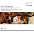 B.Maderna: Complete Works for Orchestra Vol.1 / Arturo Tamayo, Frankfurt Radio Symphony Orchestra, etc