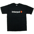 Interpol 「Red Square」 T-shirt Black/Youth Lサイズ