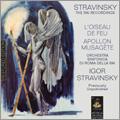 Stravinsky: The RAI Recordings - L'Oiseau de Feu, Apollon Musagete / Igor Stravinsky, Orchestra Sinfonica di Roma della RAI