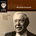 Piano Recital - Mozart, Beethoven, Schumann, Chopin / Mieczyslaw Horszowski(p)
