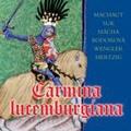 Carmina Lucemburgiana - Works for Strings; Machaut, Suk, Macha, Bodorova, Wengler, Mertzig / Irvin Venys, Marketa Nzourova, Marek Stilec, Quattro Orchestra