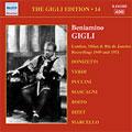 THE GIGLI EDITION VOL.14 -LONDON,MILAN & RIO DE JANEIRO RECORDINGS (1949/1951):BENIAMINO GIGLI(T)/ETC