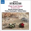 R.Strauss: Four Letzte Lieder, 6 Lieder Op.68 TrV 235, etc / Ricarda Merbeth(S), Michael Halasz(cond), Weimar Staatskapelle