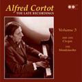 Alfred Cortot -The Late Recordings Vol.3 :Chopin:Nocturnes/Mendelssohn:Variations Serieuses Op.54/etc