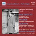 Furtwangler Early Recordings Vol.2 - Beethoven: Egmont Op.84 Overture, Symphony No.5 in C Minor Op.67, etc / Wilhelm Furtwangler(cond), Berlin Philharmonic Orchestra