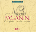Paganini :Complete Chamber Music -Quartets for String & Guitar, Trios for String & Guitar, etc / Paganini String Quartet