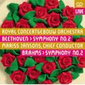 Beethoven: Symphony No.2; Brahms: Symphony No.2