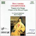 Charpentier: Vespres a la Vierge / Niquet, Concert Spirituel
