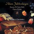 Falckenhagen: Soanata di liuto solo Op.1/ Alberto Crugnola