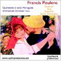 プーランク: 木管とピアノのための作品集 / エマニュエル・シュトロッセ(p), モラゲス木管五重奏団