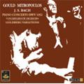 J.S.Bach: Piano Concerto No.1 BWV.1052 (8/10/1958), Goldberg Variations BWV.998 (6/21/1954), Partita No.5 BWV.829 (10/4/1954) / Glenn Gould(p), Dimitri Mitropoulos(cond), ACO