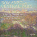 Ives: Songs; Romanzo di Central Park -On the Counter, The Circus Band, Two Little Flowers, etc (2/2007) / Gerald Finley(Br), Julius Drake(p), Magnus Johnston(vn)