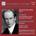 Furtwangler: Great Conductors Series Vol.3 of The Early Recordings, WEBER; Der Freischiitz, WEBER (orch. BERLIOZ): Invitation to the Dance, Op. 65 etc / Wilhelm Furtwangler, Erich Kleiber, Berlin Philharmonic Orchestra