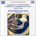 Szymanowski: Symphonies Nos 3 & 4. Concert Overture.