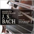 J.S.Bach: Sonatas For Violin & Klavier BWV.1014-BWV.1019 / Yehudi Menuhin, etc
