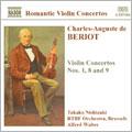 ベリオ:ヴァイオリン協奏曲第1番, 第8番, 第9番