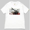 121 矢沢永吉 NO MUSIC, NO LIFE. T-shirt (グリーン電力証書付き) Mサイズ