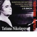 J.S.Bach: Inventions and Sinfonias BWV.772-801 (1977), Goldberg Variations (1979), French Suite BWV.812-817 (1984) / Tatiana Petrovna Nikolayeva(p)