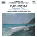 Tchaikovsky : SYM 4 , Romeo&Juliet OV / Alsop , Colorado SO