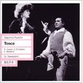 Puccini :Tosca (6/20/1958) / Gianandrea Gavazzeni(cond), Orchestra Filarmonica della Scala, Renata Tebaldi(S), Giuseppe di Stefano(T), etc
