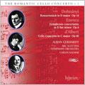 Dohnanyi: Konzertstuck Op.12; Enescu: Symphonie Concertante Op.8; d'Albert: Cello Concerto Op.20
