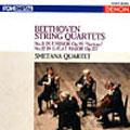 ベートーヴェン:弦楽四重奏曲第11番 ヘ短調作品95《セリオーソ》/第12番 変ホ長調作品127