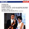 J.S.バッハ:ヴァイオリンとハープシコードのためのソナタ BWV1014-19(全6曲)