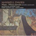 Maxwell Davies: Mass, etc / Baker, Quinney, et al