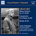 Mozart: Piano Concerto No.27 in B Flat Major Op.17 K.595, etc / Artur Schnabel(p), John Barbirolli(cond), London Symphony Orchestra, etc