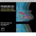 Penderecki: Complete Choral Works - Magnificat, Stabat Mater, Veni Creator, etc / Jan Lukaszewski, Polish Chamber Choir