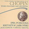 Chopin:The National Edition Vol.10.Works For Piano & Orchestra:E.Poblocka/K.Jablonski/J.Kaspszyk/Orchestra Sinfonia Varsovia