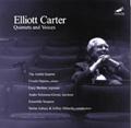 Carter: Quintets & Voices