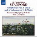 Stanford: Symphonies Vol.3 (No.3 & 6) / David Lloyd Jones(cond), Bournemouth Symphony Orchestra