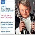 J.S.Bach: Oboe d'amore Concertos BWV 1053, 1055; Telemann: Oboe d'amore Concertos, TWV 51-G3, 51-A2 / Thomas Stacy(ob), Kevin Mallon(cond), Toronto Chamber Orchestra